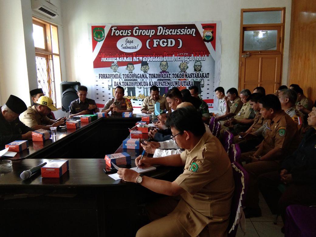 Focus Group Discussion Demi Menjaga Keutuhan NKRI